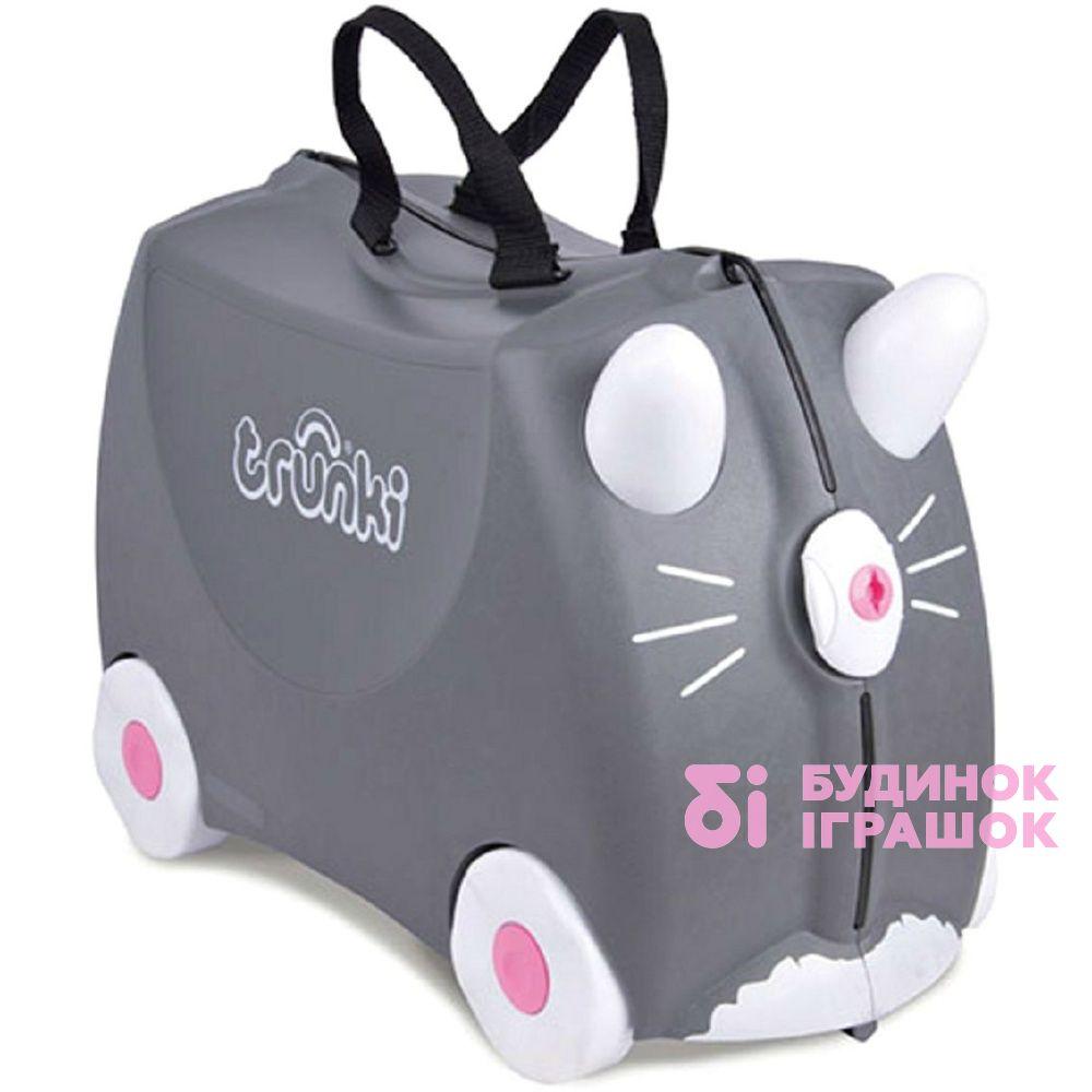 074830c1e60d Рюкзаки и сумки - Детский чемодан для путешествий Benny Trunki  (0180-GB01-UKV