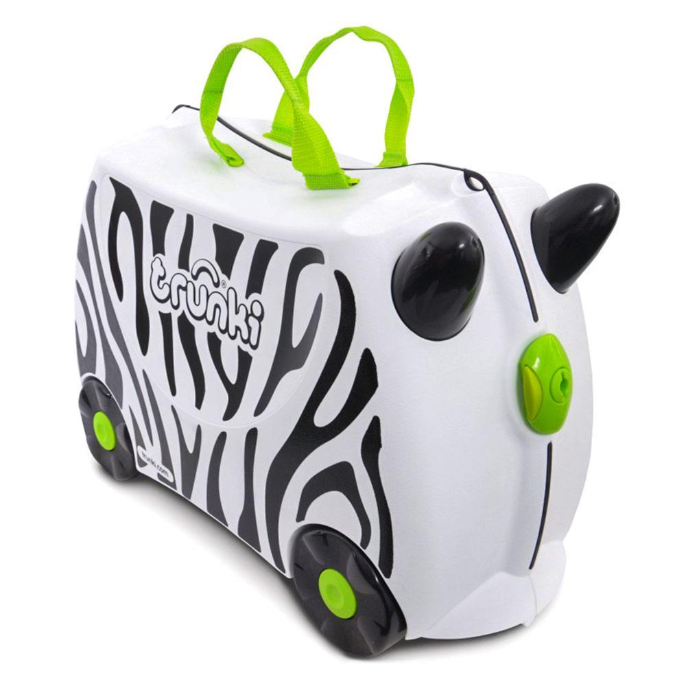 4e1d6a31f5a6 Детский чемодан Trunki Zimba zebra (0264-GB01-UKV) 【 Будинок іграшок 】  купить в Киеве, Харькове, Одессе по низкой цене