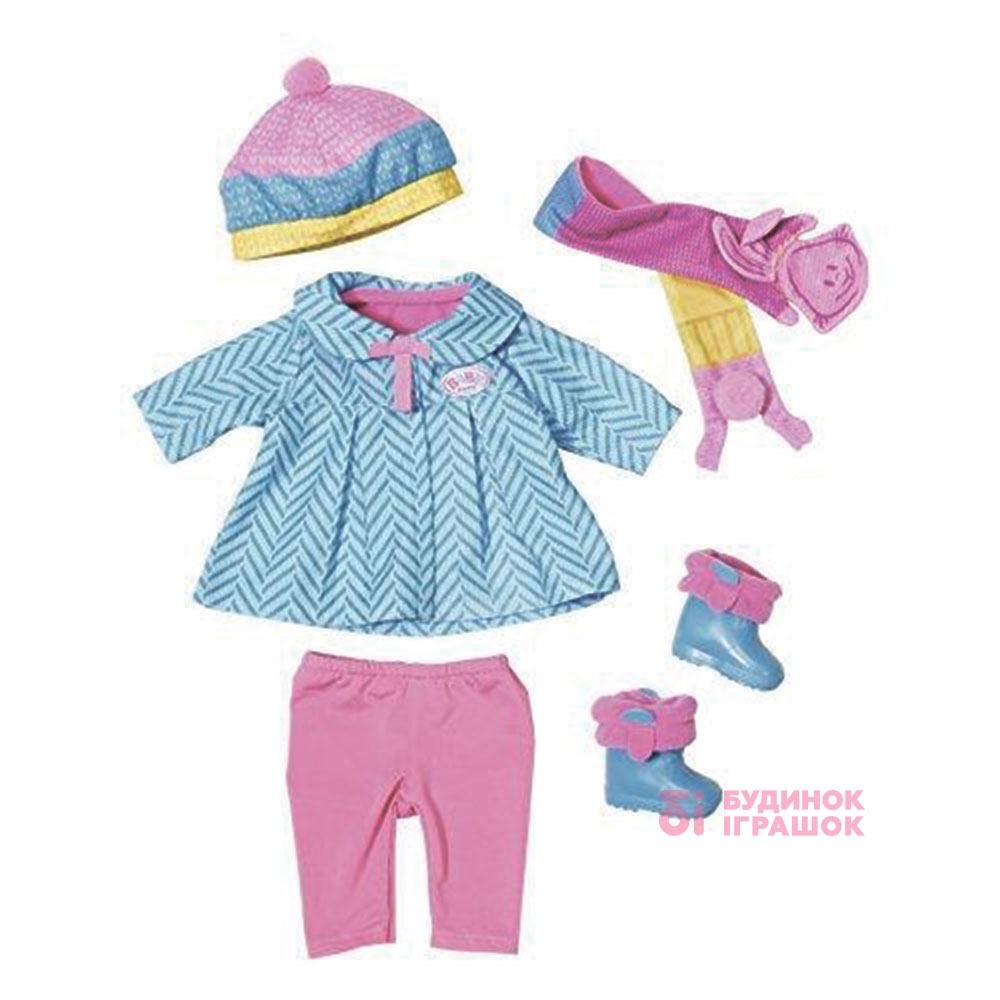 5ced530d64fcd5 Одяг та аксесуари для пупсів - Набір одягу для ляльки прохолодний день BABY  BORN (823828