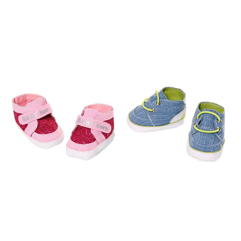 Одяг та аксесуари для пупсів - Взуття для ляльки Baby Born Стильні кросівки  (824207) e70a2a074fd84