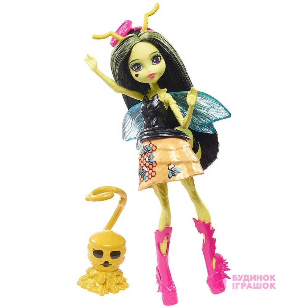 Модельні ляльки - Лялька Monster High Садові перевертні Крилата Бітріс  (FCV47 FCV49) 010afbc1e0a72