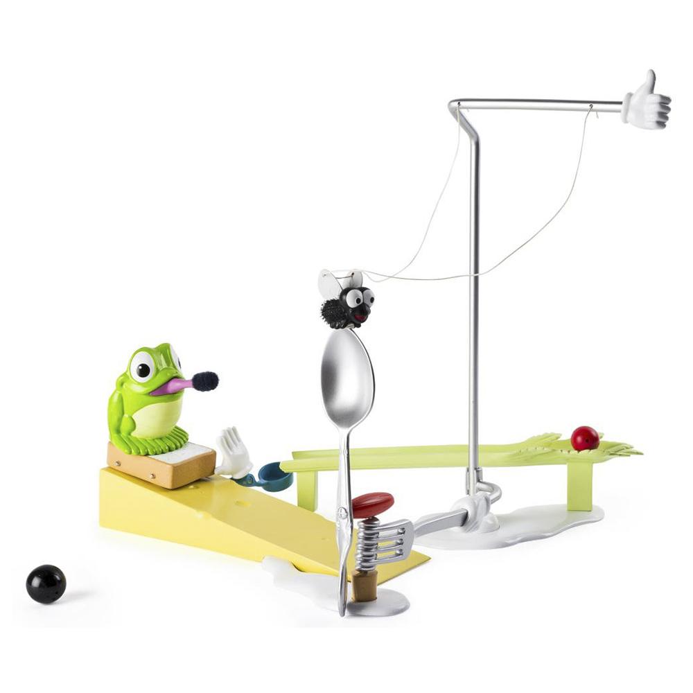 Купить Детские компьютеры, электронные игры, Игрушечный набор в коробке Rube Goldberg Fly Trap Challenge (6033574), Spin Master