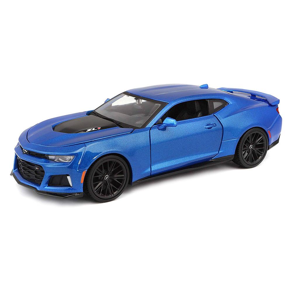 Maisto / Машинка игрушечная Chevrolet Camaro ZL1 2017 (31512 met. Blue)
