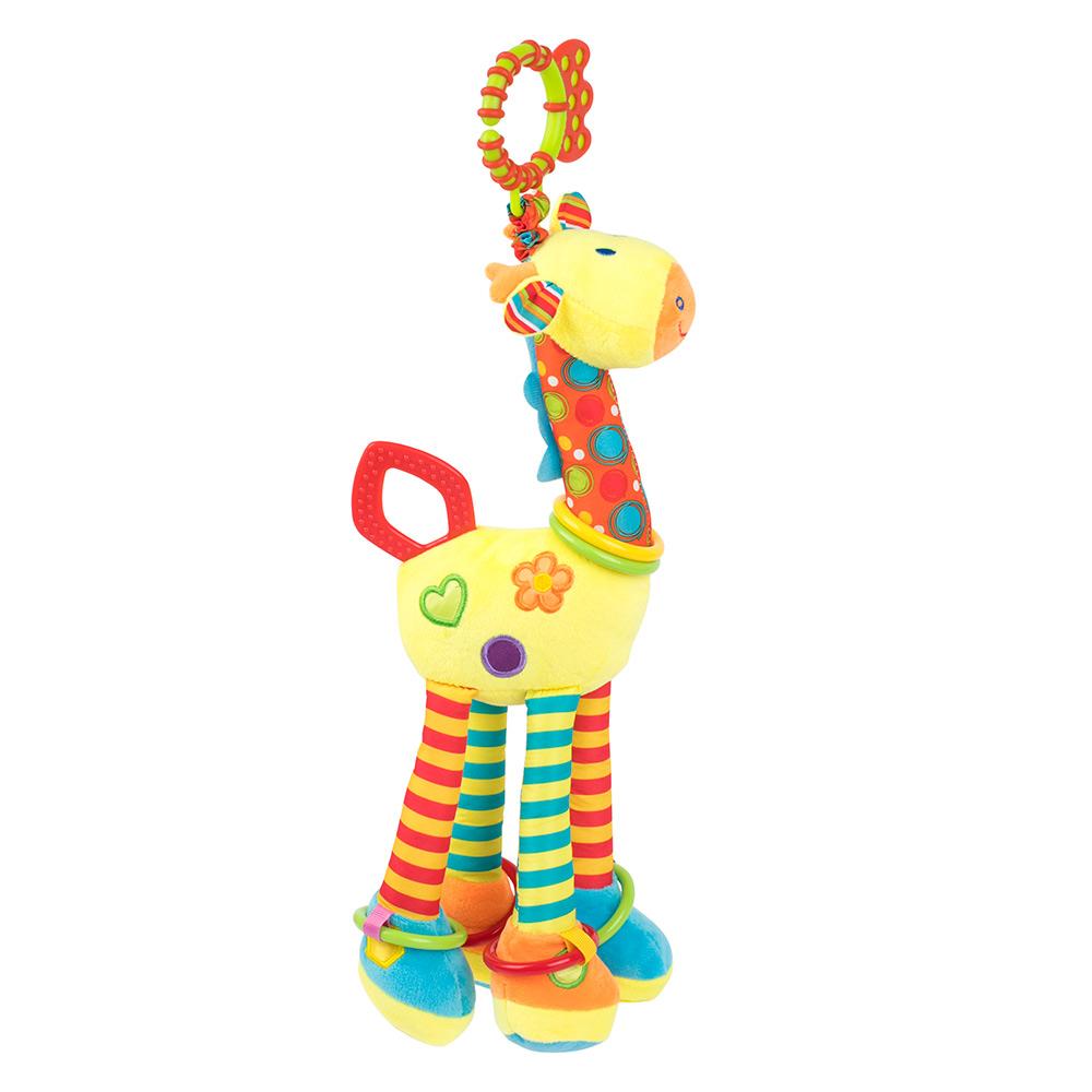 Купить Погремушки, подвески, прорезыватели, Игрушка-подвеска Baby Team Жираф с погремушкой (8531)