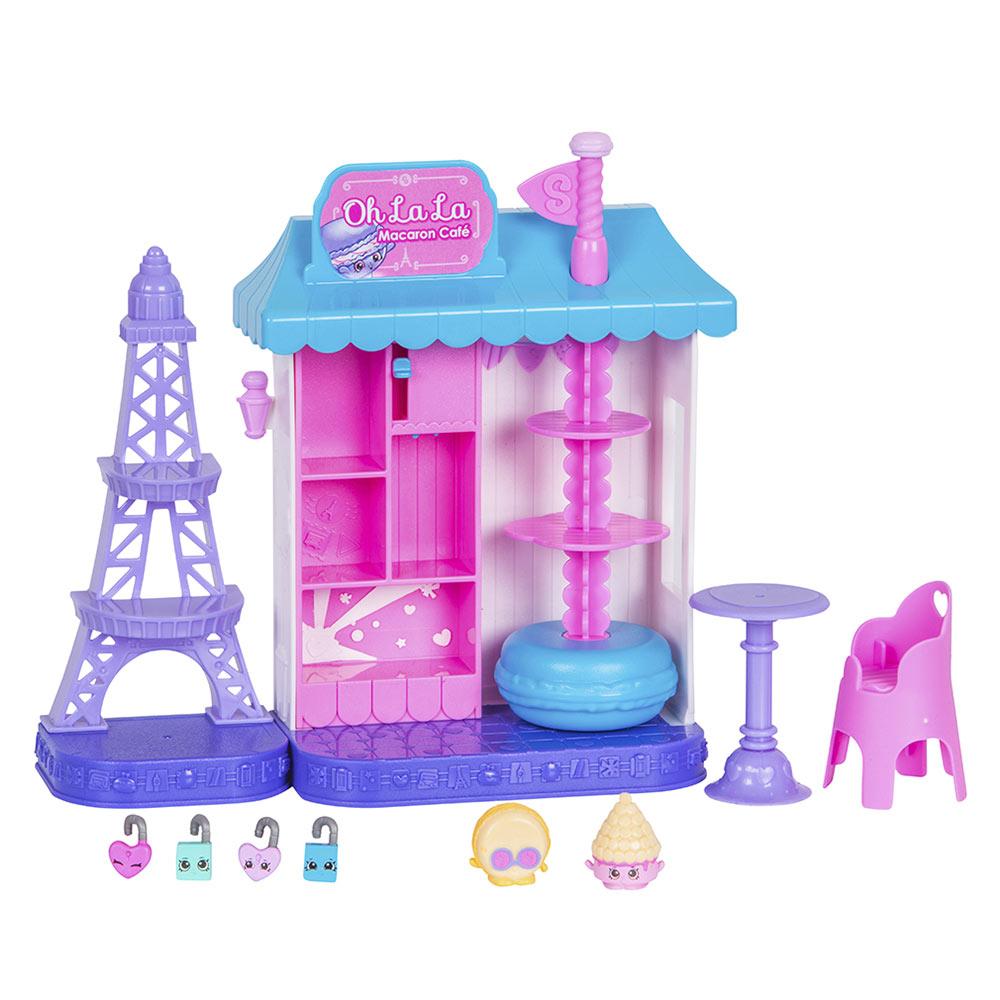 Купить Игровые наборы, Игровой набор Shopkins Кругосветное путешествие Парижское кафе S8 (56516)