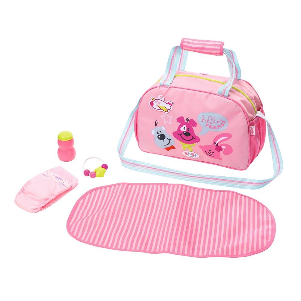 Одяг та аксесуари для пупсів - Сумка для ляльки Baby Born Матусина турбота  (824436) 79bd15f195d5c