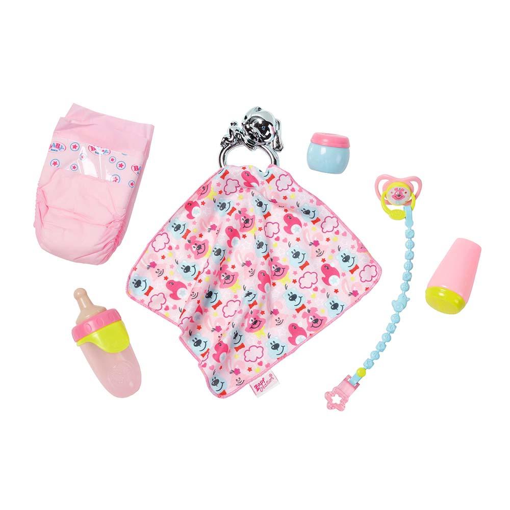 Набір аксесуарів для ляльки BABY BORN Zapf Creation Турбота про малюка  (824467) - купити в магазині дитячих іграшок  Будинок іграшок  cdedcb28b12c1