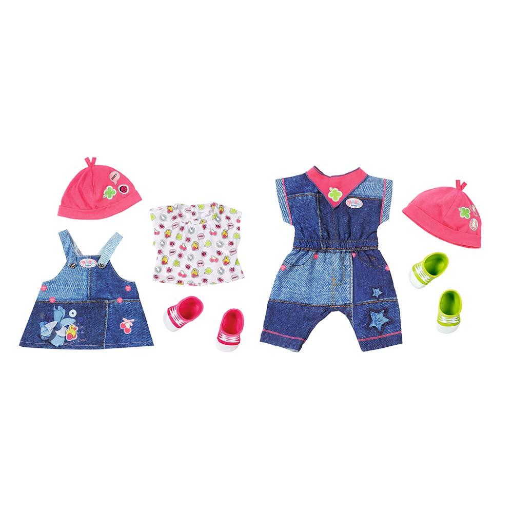Набір одягу для ляльки BABY BORN Zapf Creation Модний джинс (824498) -  купити в магазині дитячих іграшок  Будинок іграшок  fb4727bcb1d30