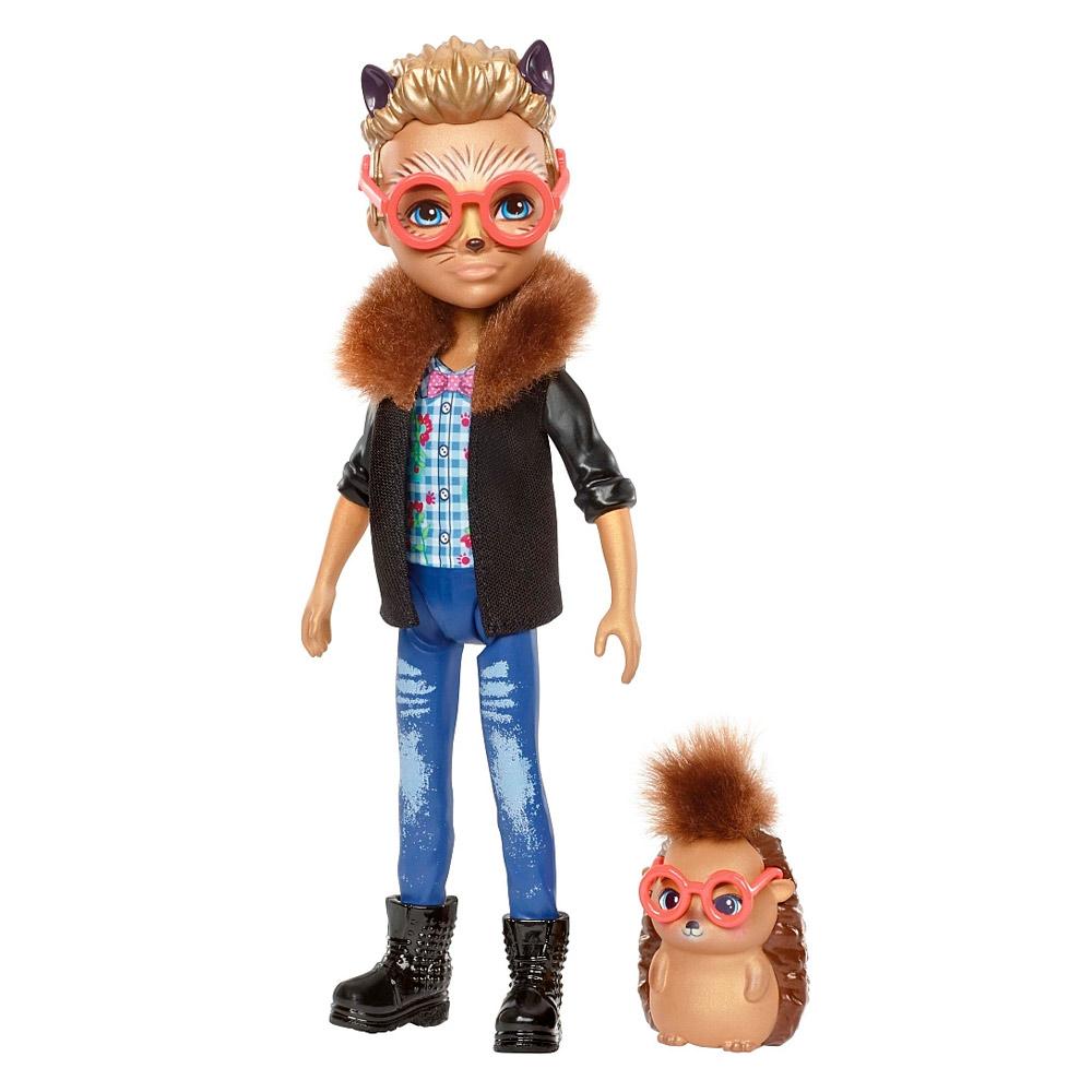 Купить Куклы, наборы для кукол, Кукла Enchantimals Ежик Хиксби (FJJ22), Mattel
