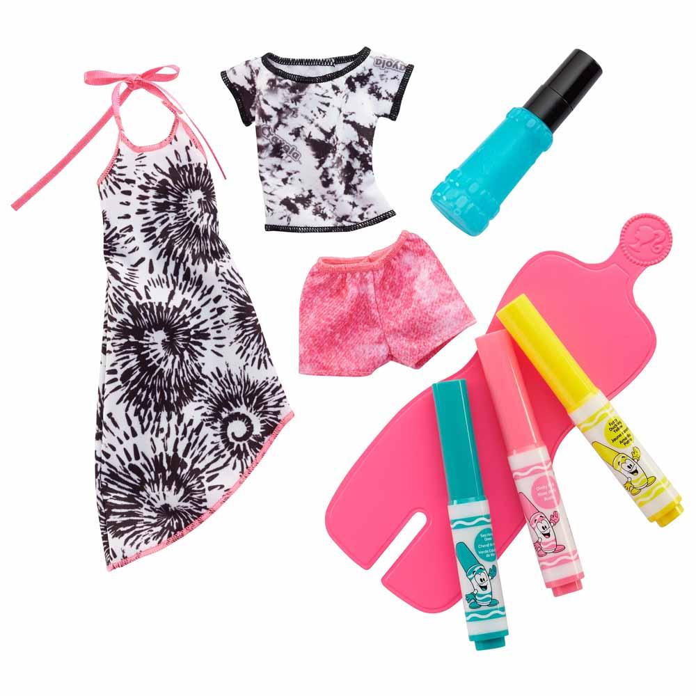 Набор одежды Barbie x Crayola Специальная техника (FPW12) - купить в  магазине детских игрушек  Будинок іграшок  bf5e9951d48