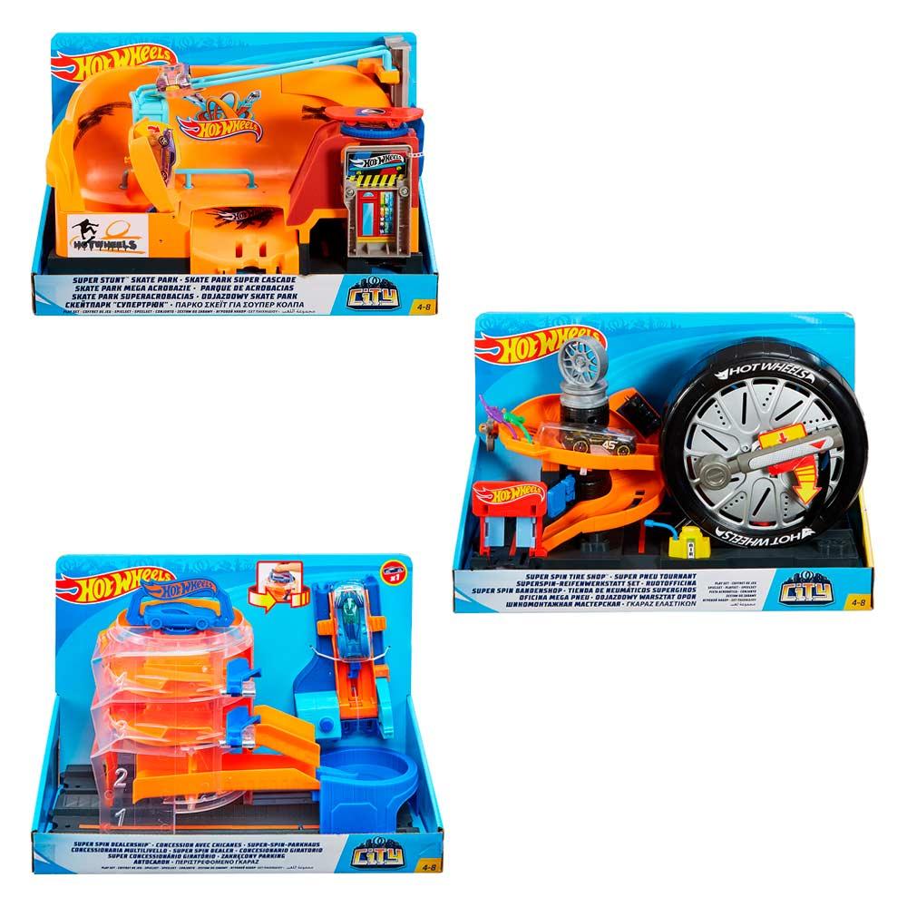 42737845fa688 Автотреки - Игровой набор Hot Wheels City Трюки в городе в ассортименте  (FNB15)