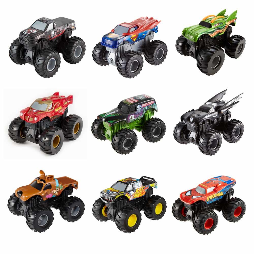 Mattel / Инерционный внедорожник Hot Wheels Monster Jam в ассортименте (CHV22)
