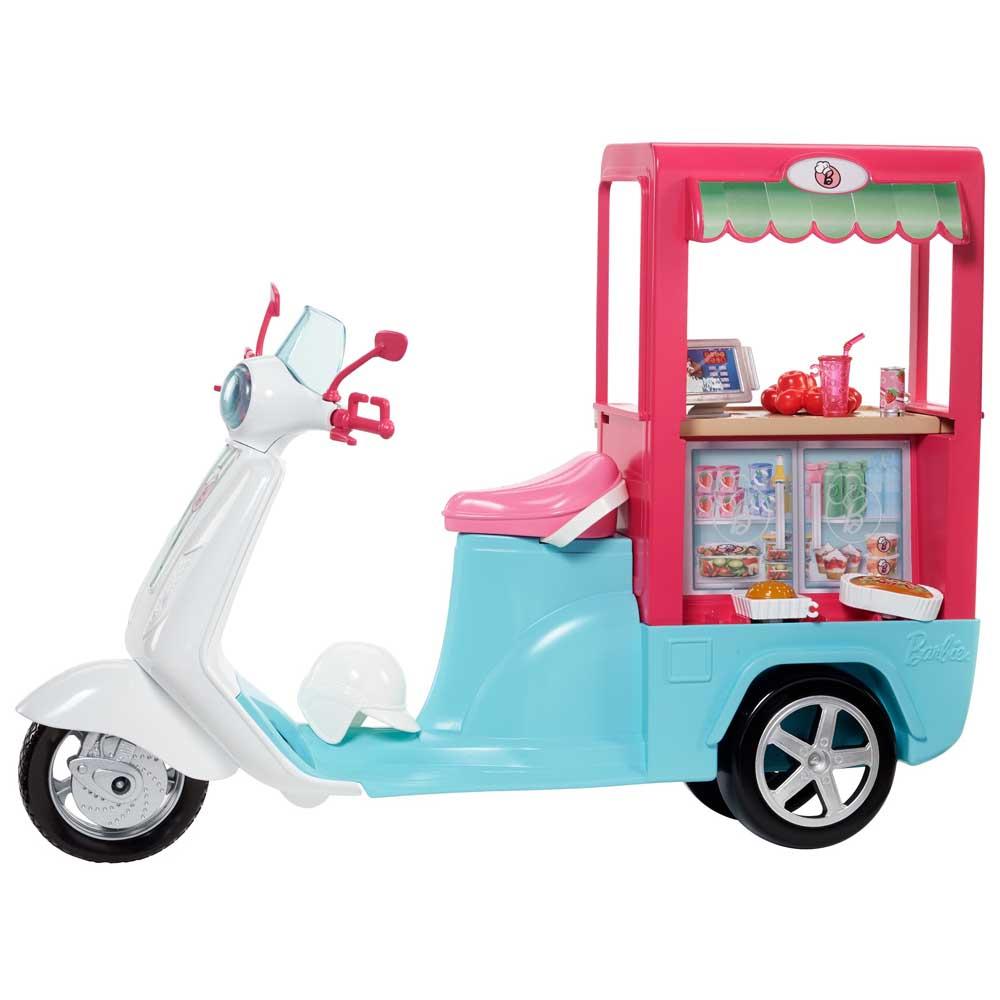 Купить Куклы, наборы для кукол, Фургончик-бистро Barbie (FHR08), Mattel