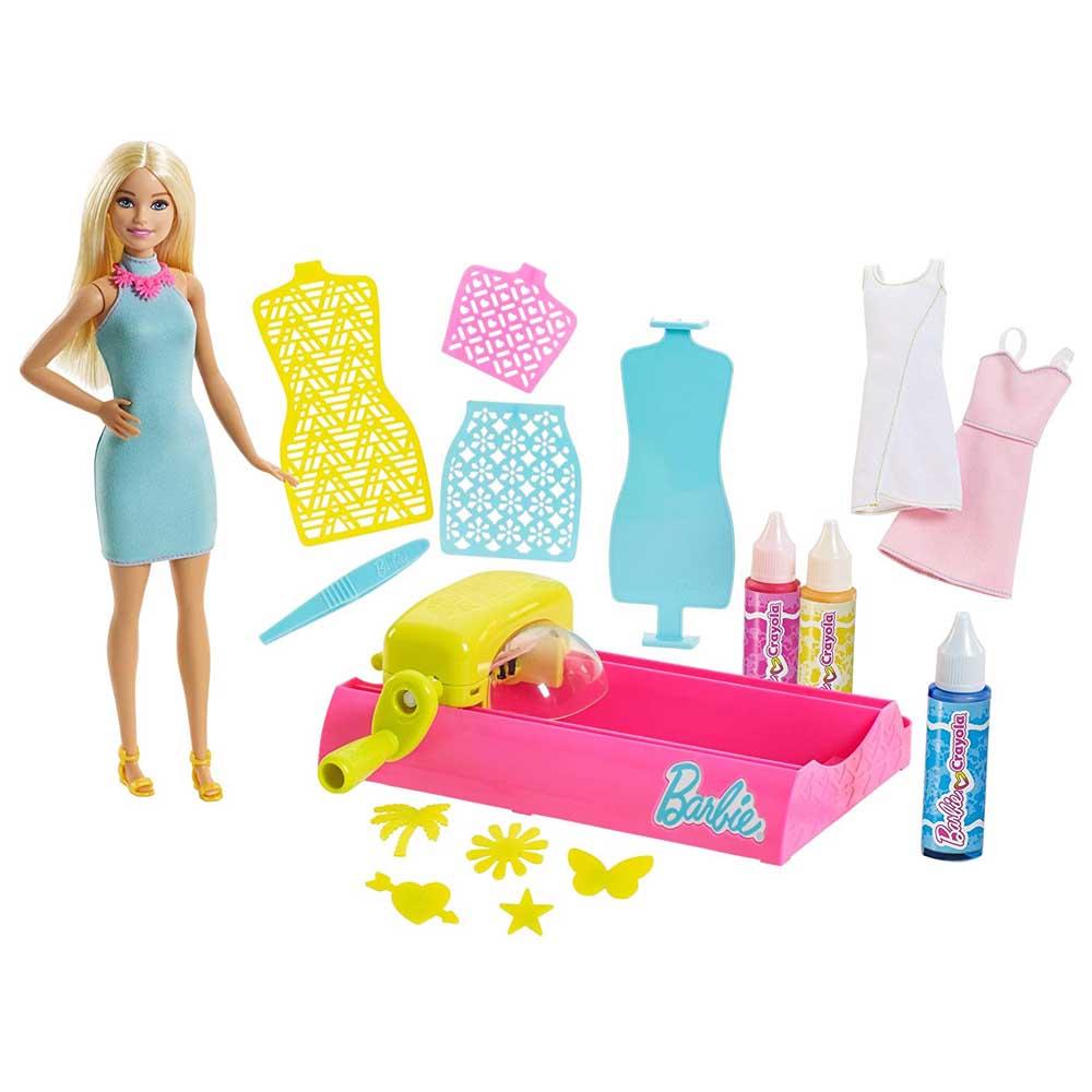 f28934dddc5 Модельные куклы - Набор Barbie Crayola Фабрика волшебных цветов (FPW10)