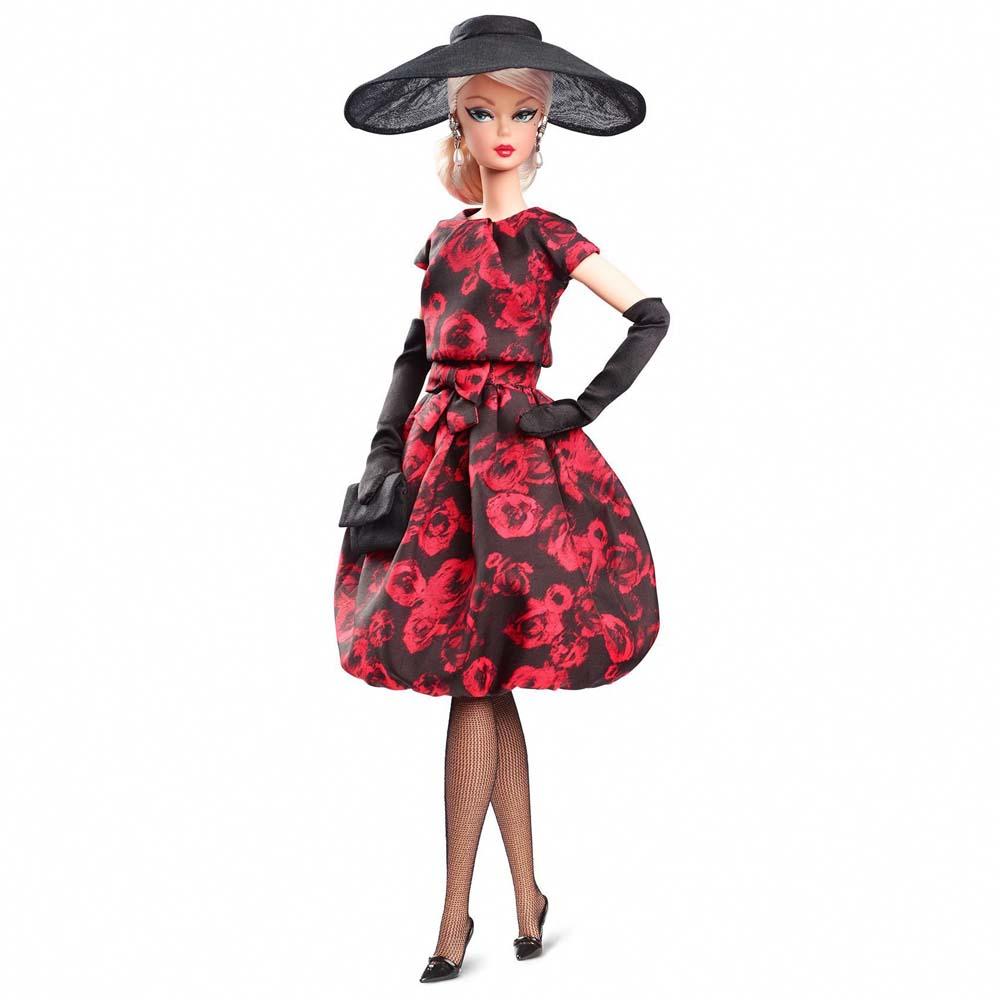 780ef4a2771c Коллекционная кукла Barbie Платье в розах (FJH77) - купить в магазине  детских игрушек  Будинок іграшок
