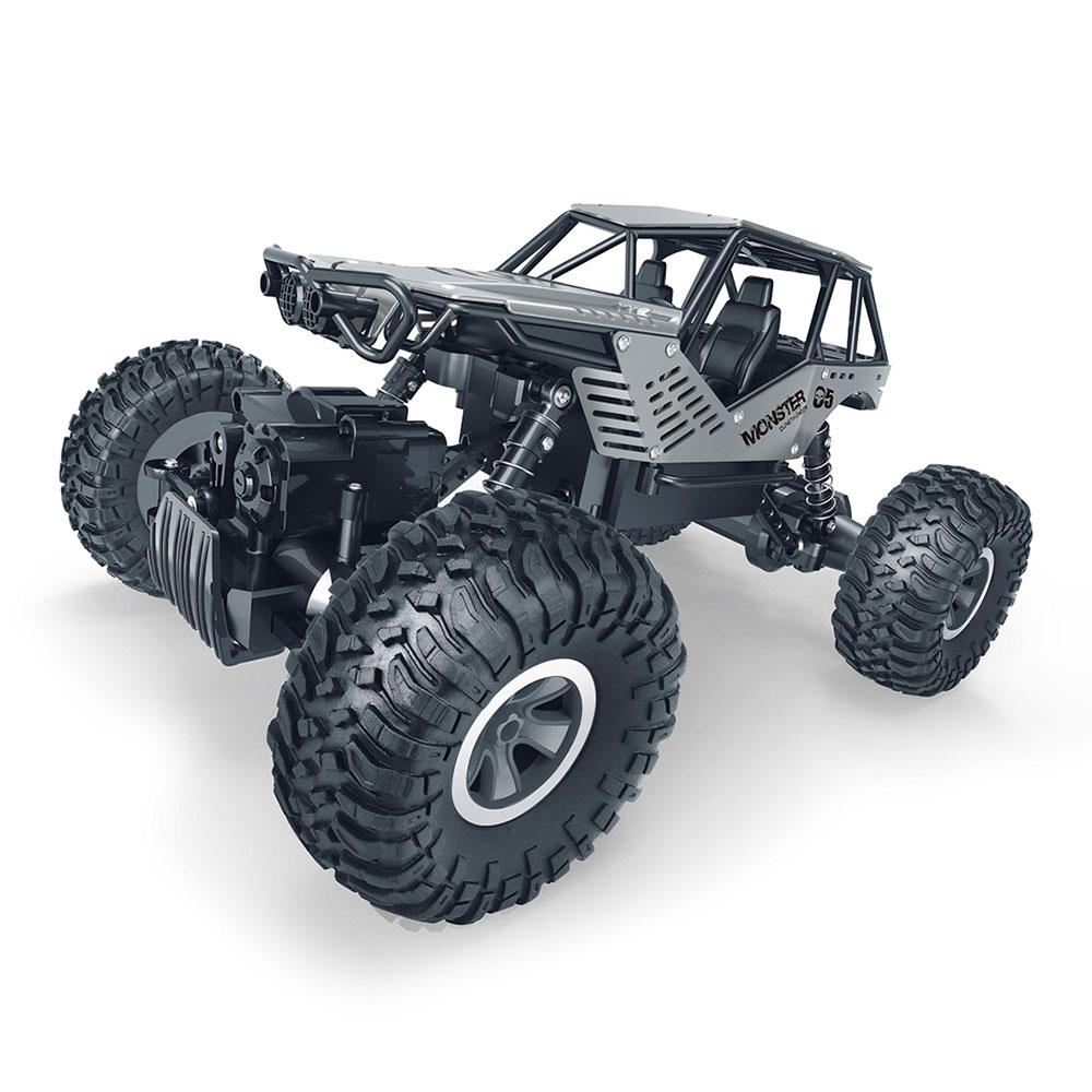 Машинка Sulong Toys Off road crawler Rock на радиоуправлении 1:18 серебристая (SL-111S)