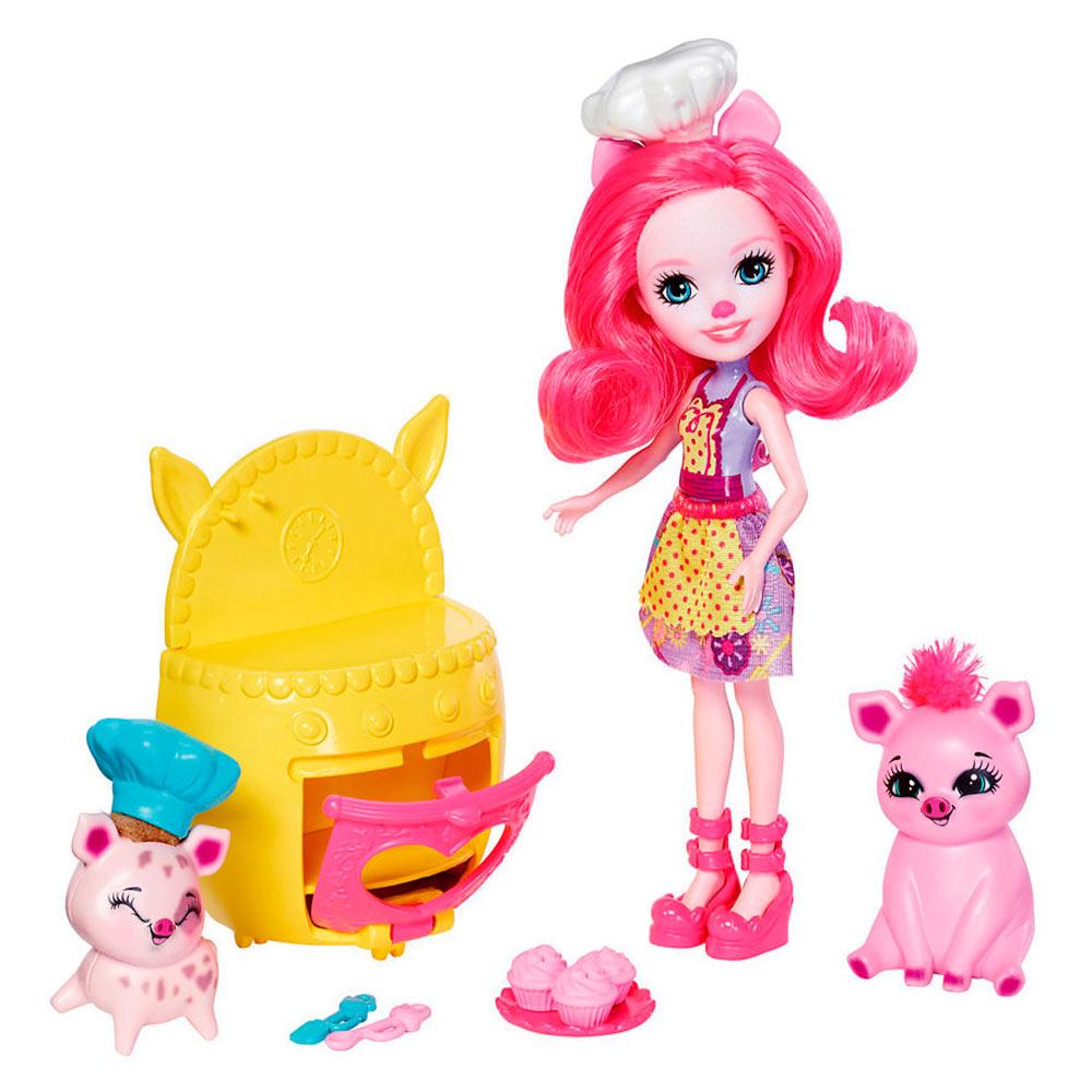 Купить Игровые наборы, Набор Enchantimals Кукла с друзьями (FCC62/FJJ28), Mattel