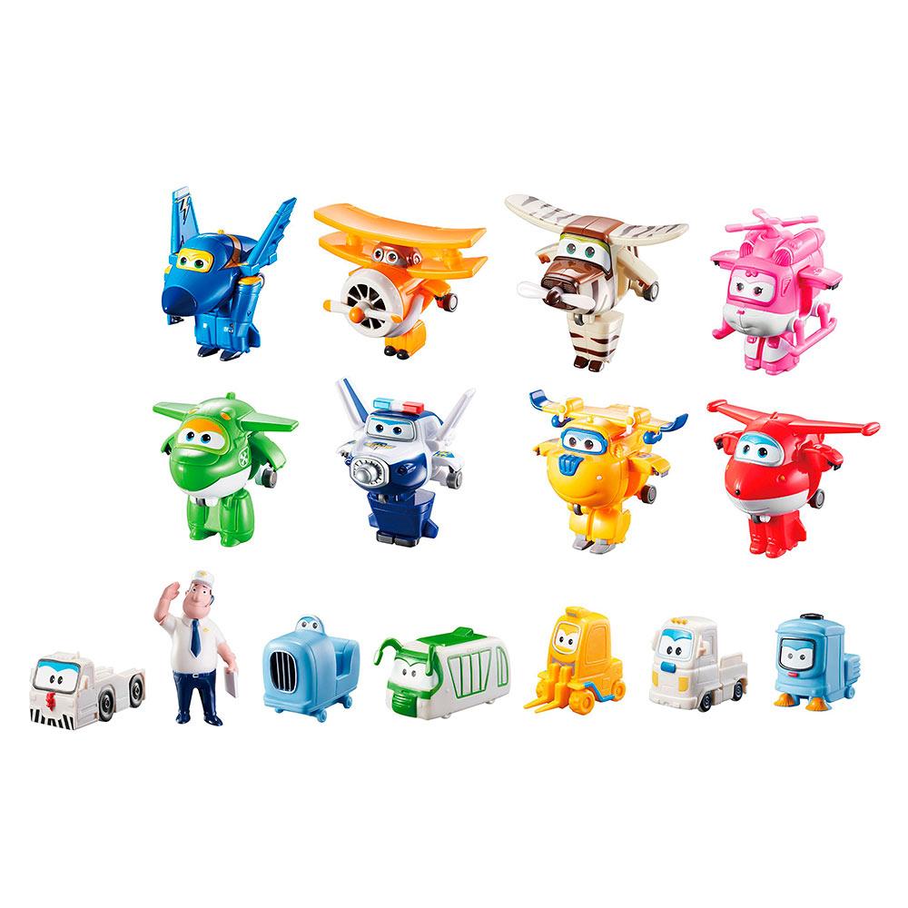 d1ea712a3713 Игровой набор Super Wings World airport crew (YW710640) - купить в магазине  детских игрушек  Будинок іграшок