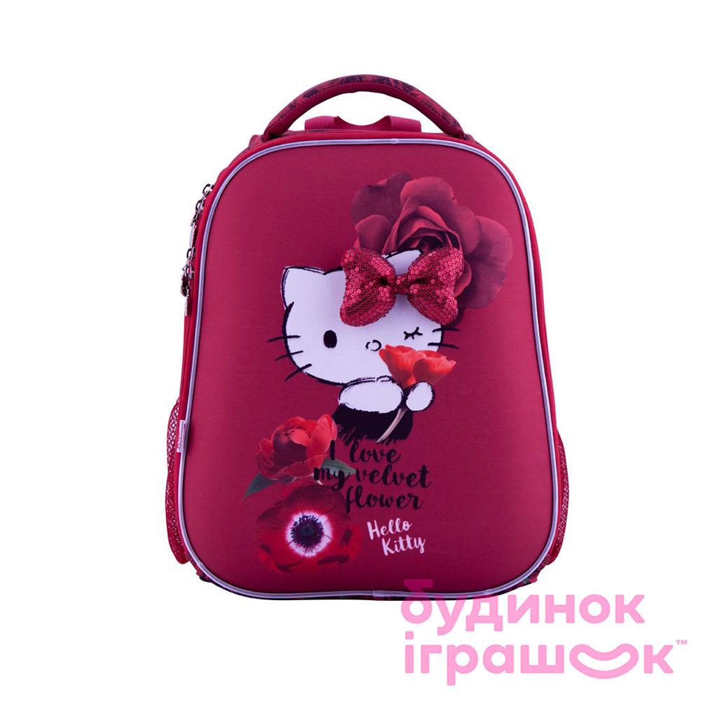 Рюкзаки та сумки - Рюкзак шкільний Kite Hello Kitty каркасний (HK18-531M) d5c3dfc172873