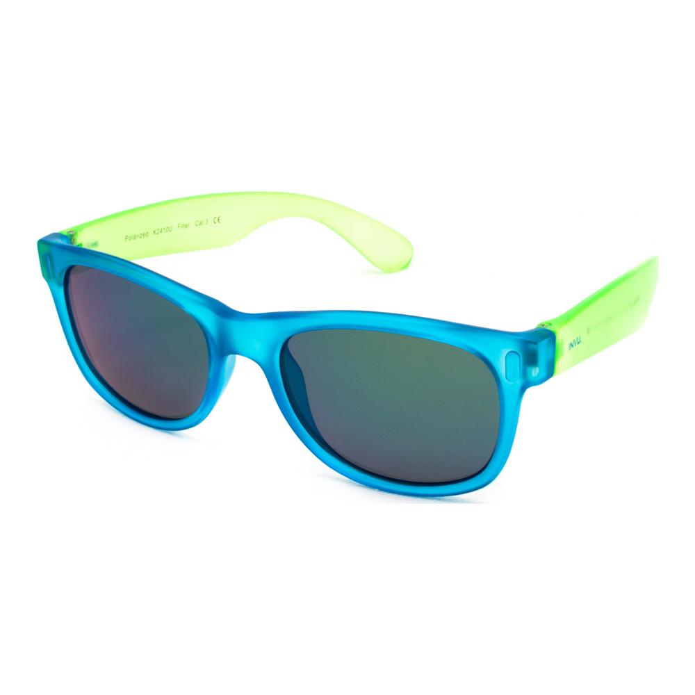 Солнцезащитные очки INVU Сине-зеленые вайфареры детские (K2410U)