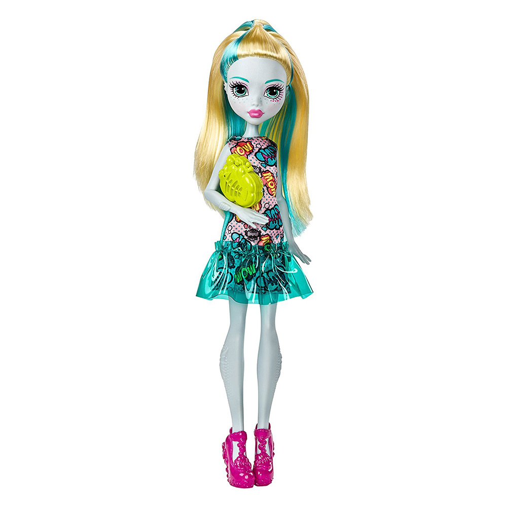 Модельні ляльки - Лялька Monster High Новий страхоместр Лагуна Блу  (DTD90 FJJ17) c715c696bae6e