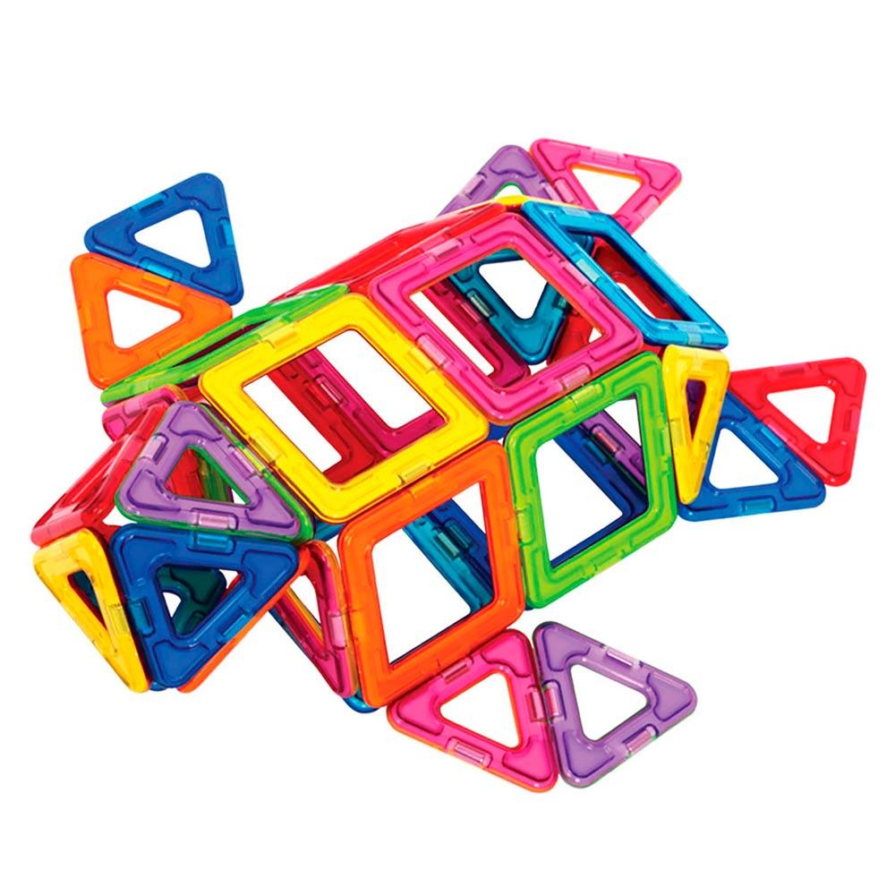 Купить Детские конструкторы, Конструктор Magplayer Магнитный набор 166 элементов (MPA-166)