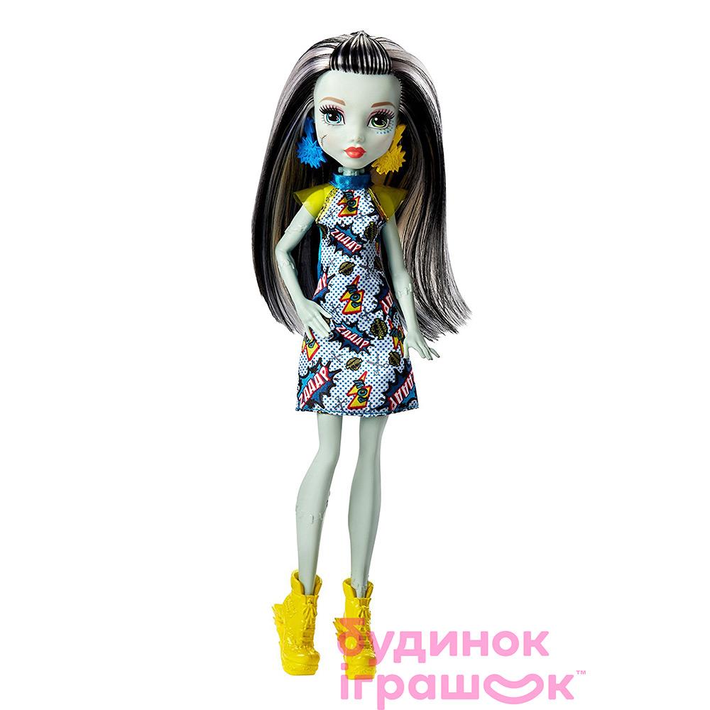Модельні ляльки - Лялька Monster High Новий страхоместр Френкі Штейн  (DTD90 FJJ15) 1f208677bc4b9