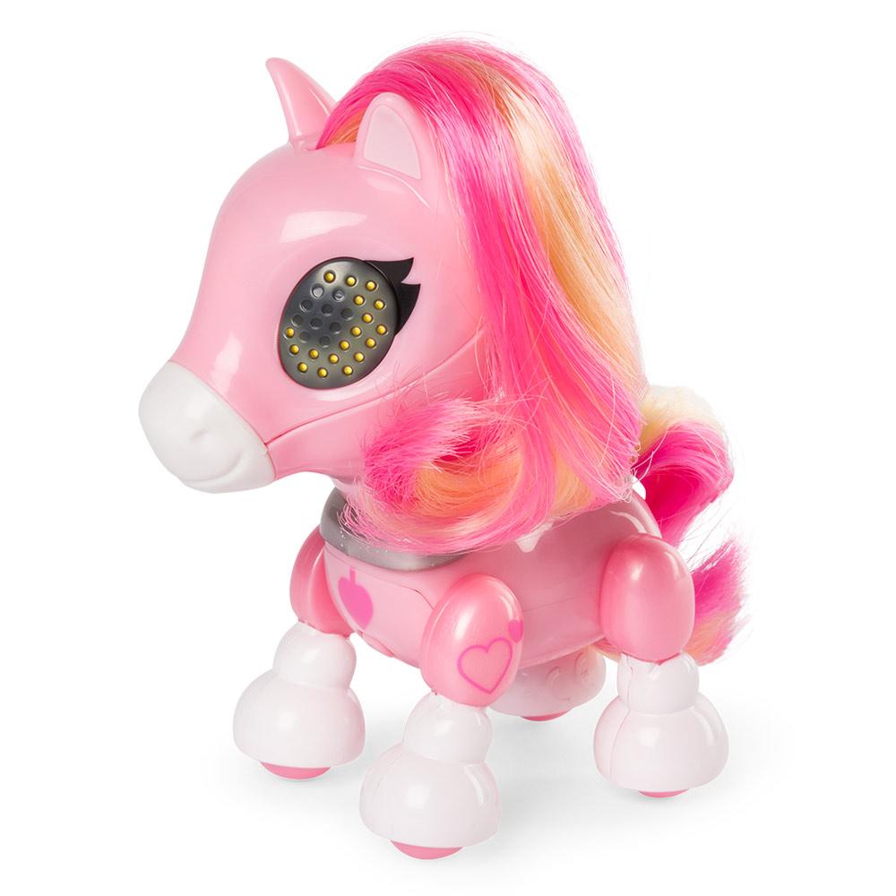 Купить Персонажи мультфильмов, игровые фигурки, Интерактивная игрушка Zoomer Zupps Пони Сахарок (SM14425/1466)