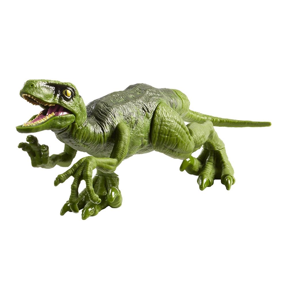 Купить Персонажи мультфильмов, игровые фигурки, Фигурка динозавра Jurassic World 2 Велоцираптор зеленый (FPF11/FPF13), Hasbro