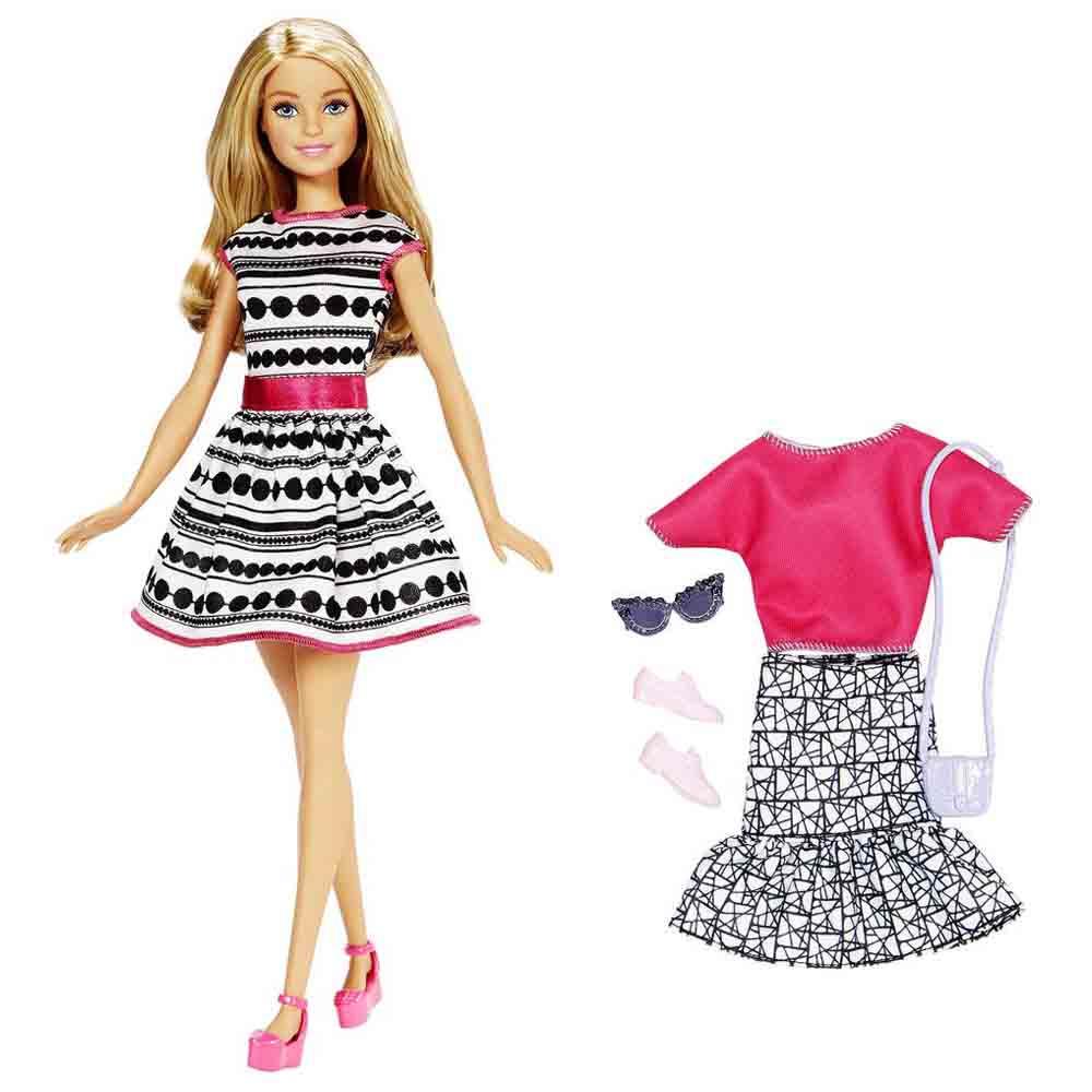 Набор Barbie Стиль и Красота Блондинка (FFF58 FFF59) - купить в магазине  детских игрушек  Будинок іграшок  a847cda9281