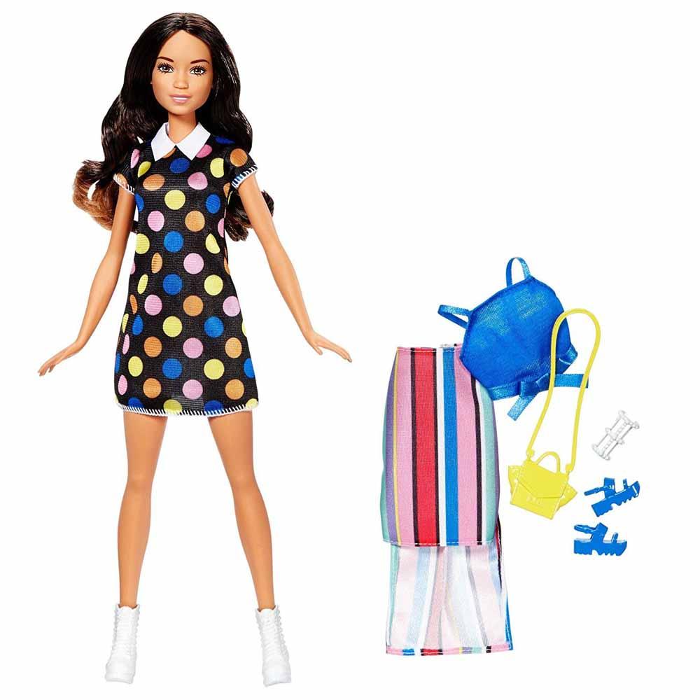 7aeed8b5578 Модельные куклы - Набор Barbie Стиль и Красота Брюнетка ассортимент  (FFF58 FFF60)