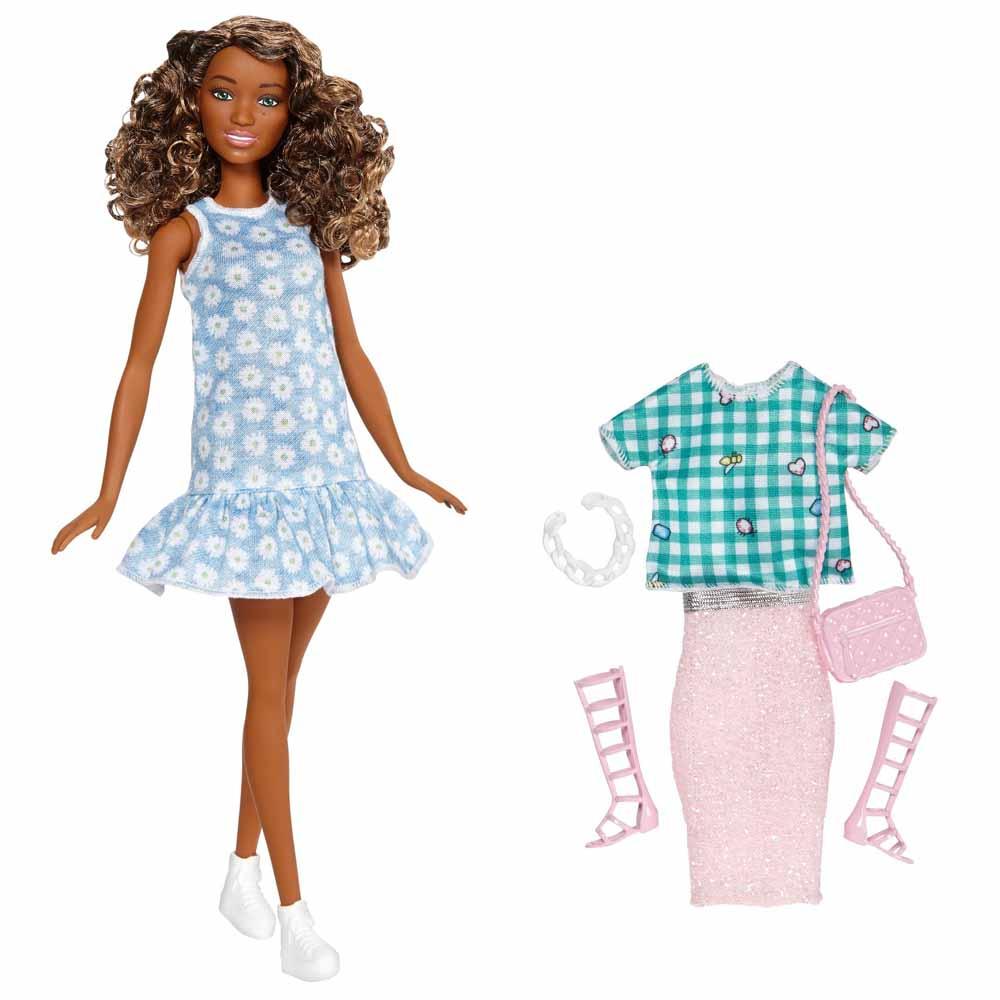 Модельні ляльки - Набір Barbie Стиль і Краса Шатенка асортимент  (FFF58 FFF61) 65007afb70cc9