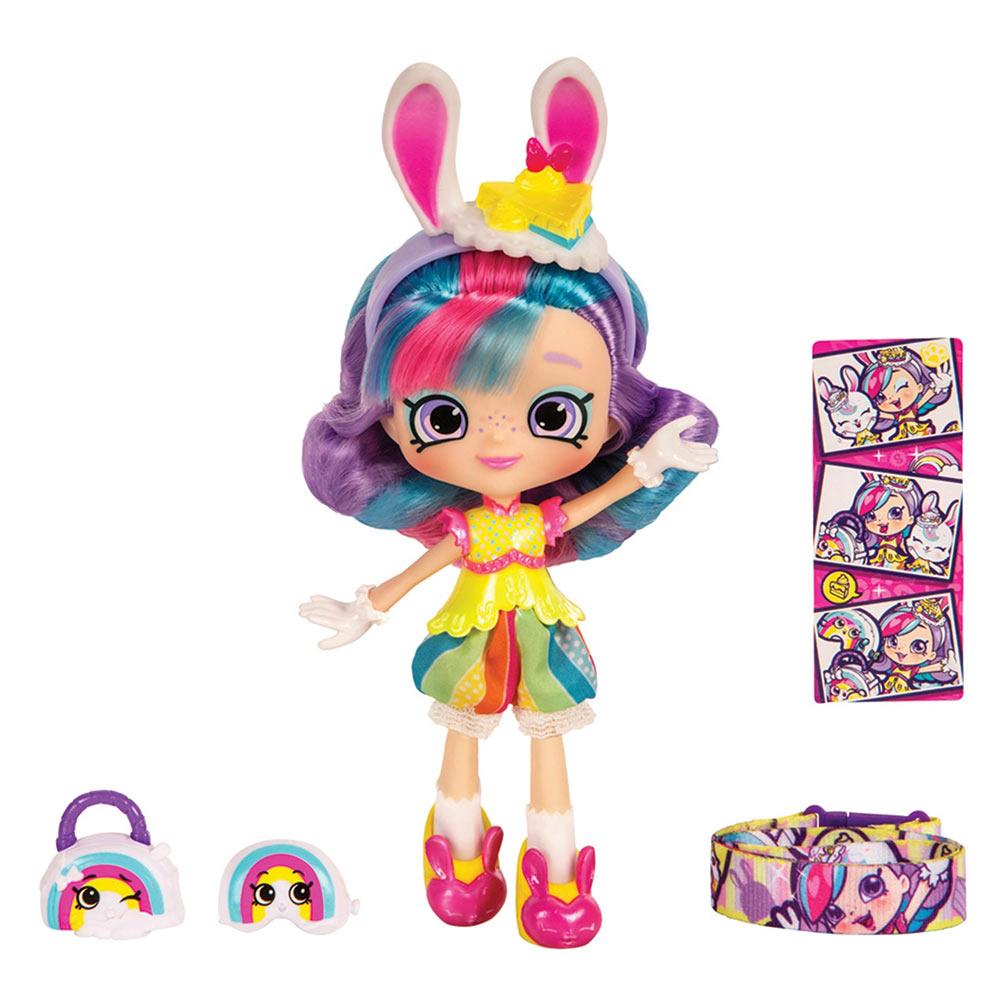 Купить Куклы, наборы для кукол, Кукла Shopkins Shoppies S9 Wild style Райдужная Кейт (56715)