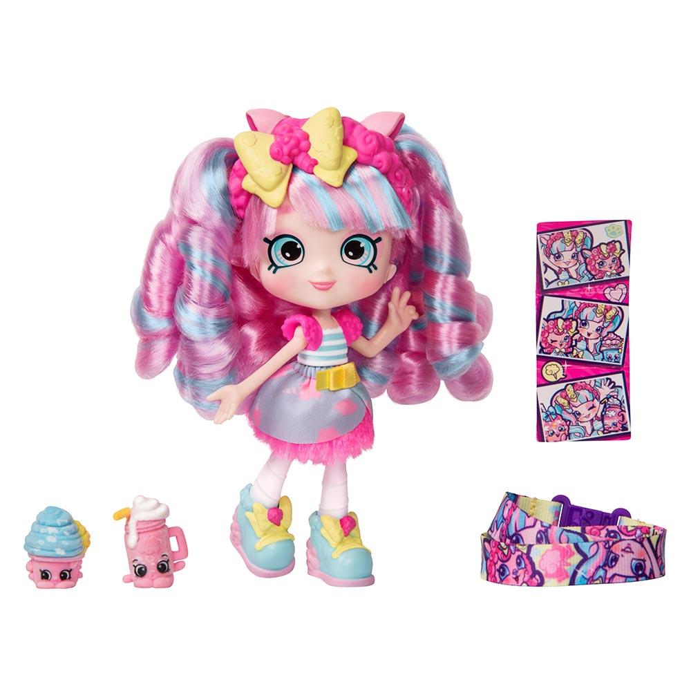 Купить Куклы, наборы для кукол, Кукла Shopkins Shoppies S9 Wild style Сахарная Кенди (56926)