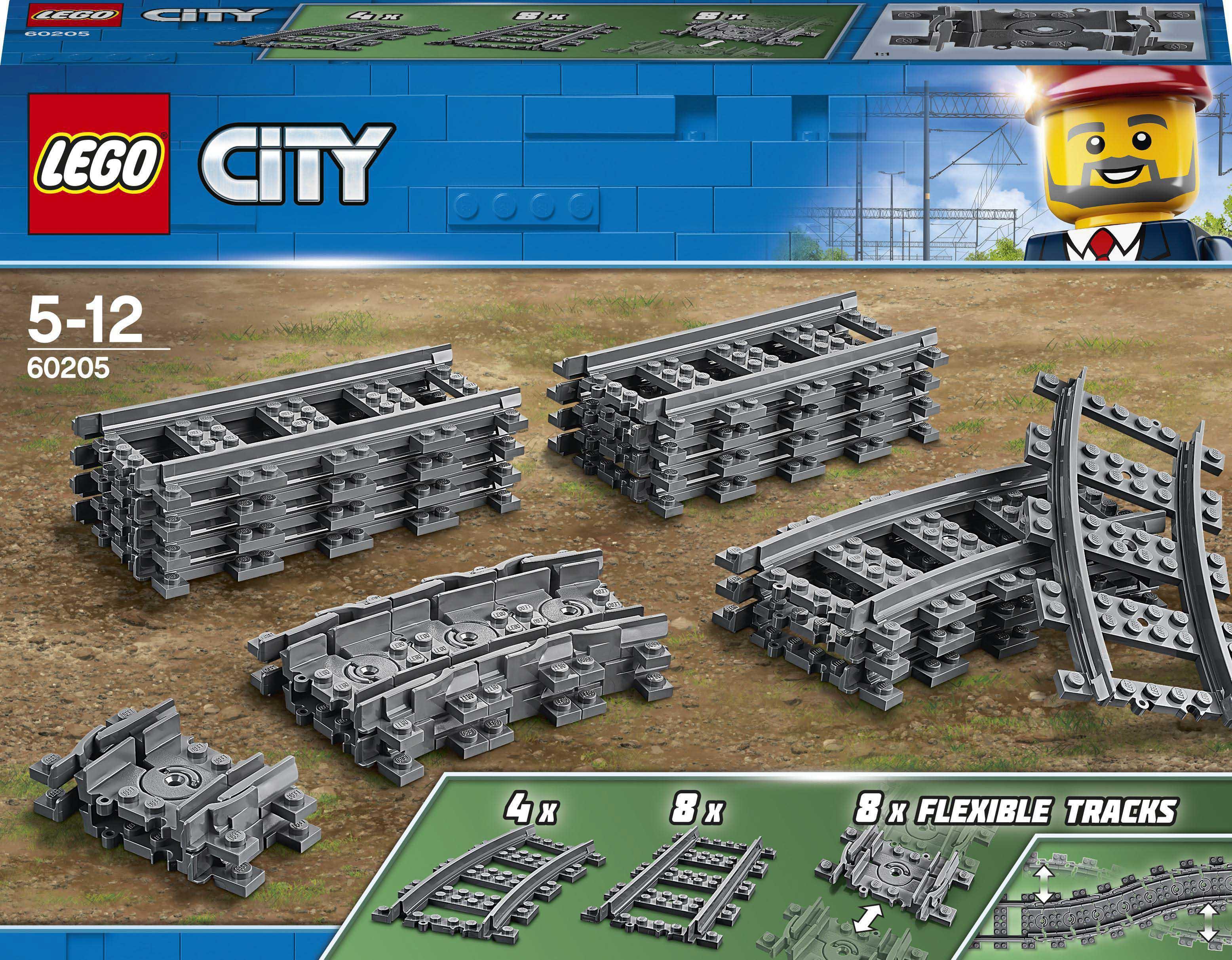 Купить Детские конструкторы, Конструктор LEGO City Трассы (60205)