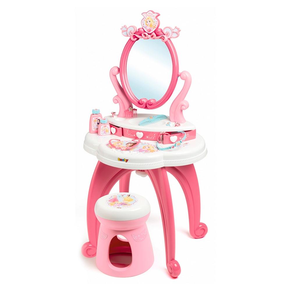 Столик з дзеркалом Smoby Дісней Принцеса 2 в 1 (320222) - купити в магазині дитячих  іграшок  Будинок іграшок  e7a661d3cab70