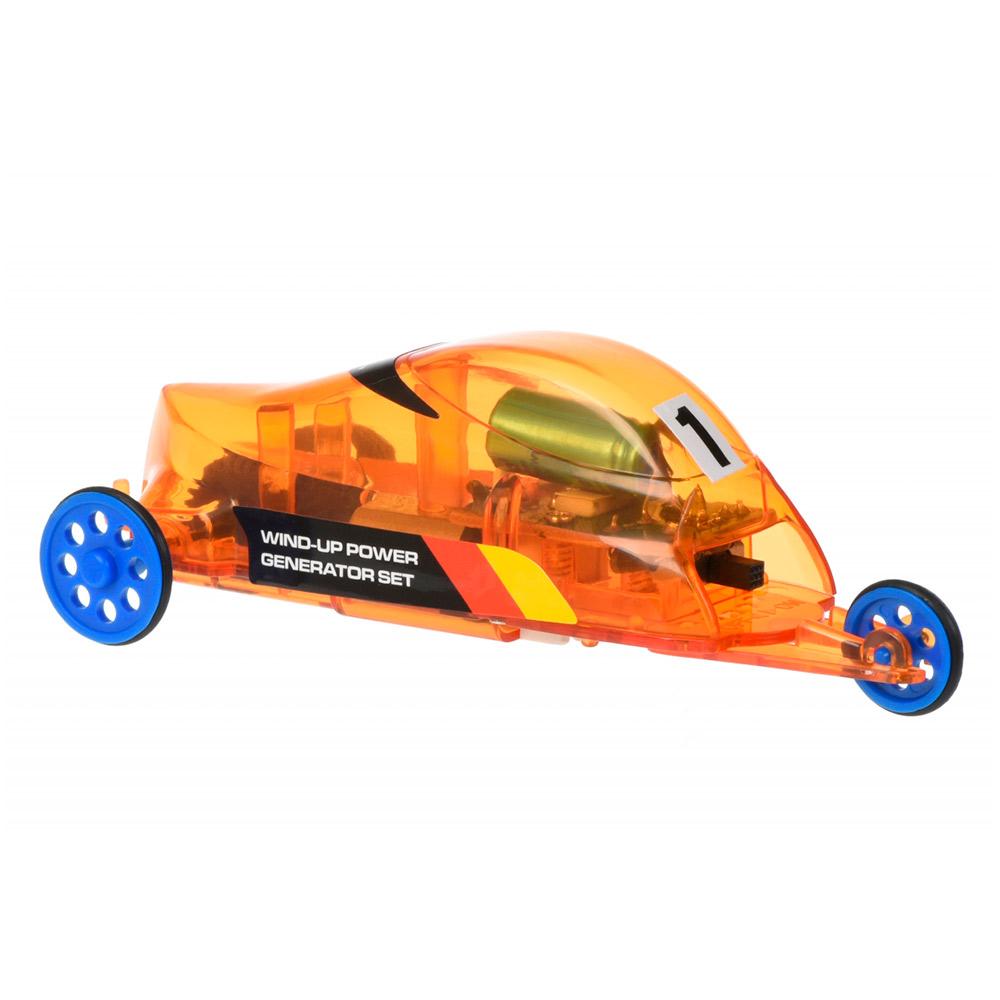 Купить Сборные модели, Робот-конструктор Same Toy Авто на динамо-машине (DIY006UT)