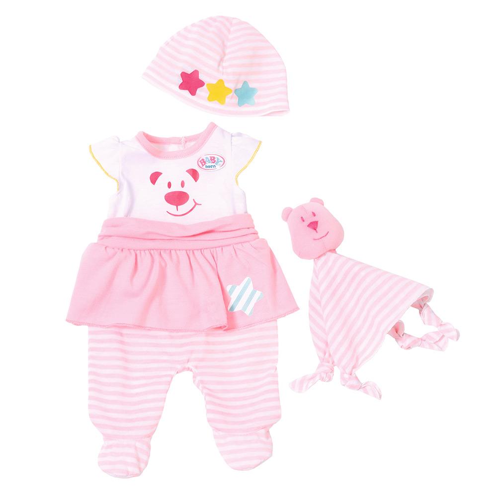 Набір одягу для ляльки Baby Born Мила крихітка (823910) - купити в магазині  дитячих іграшок  Будинок іграшок  7c02e6e3076bb