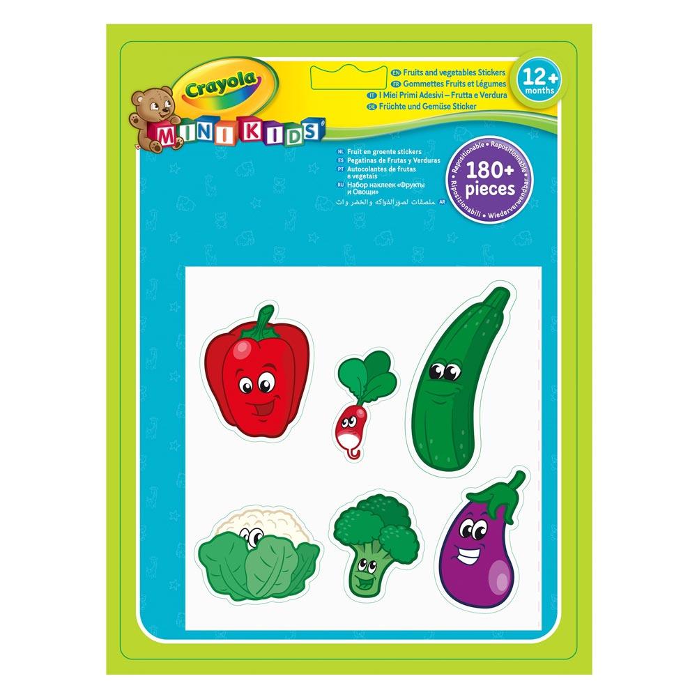 Набір стікерів Crayola Овочі та фрукти (81-2010) - купити в магазині  дитячих іграшок  Будинок іграшок  4bbe53cbc1f06