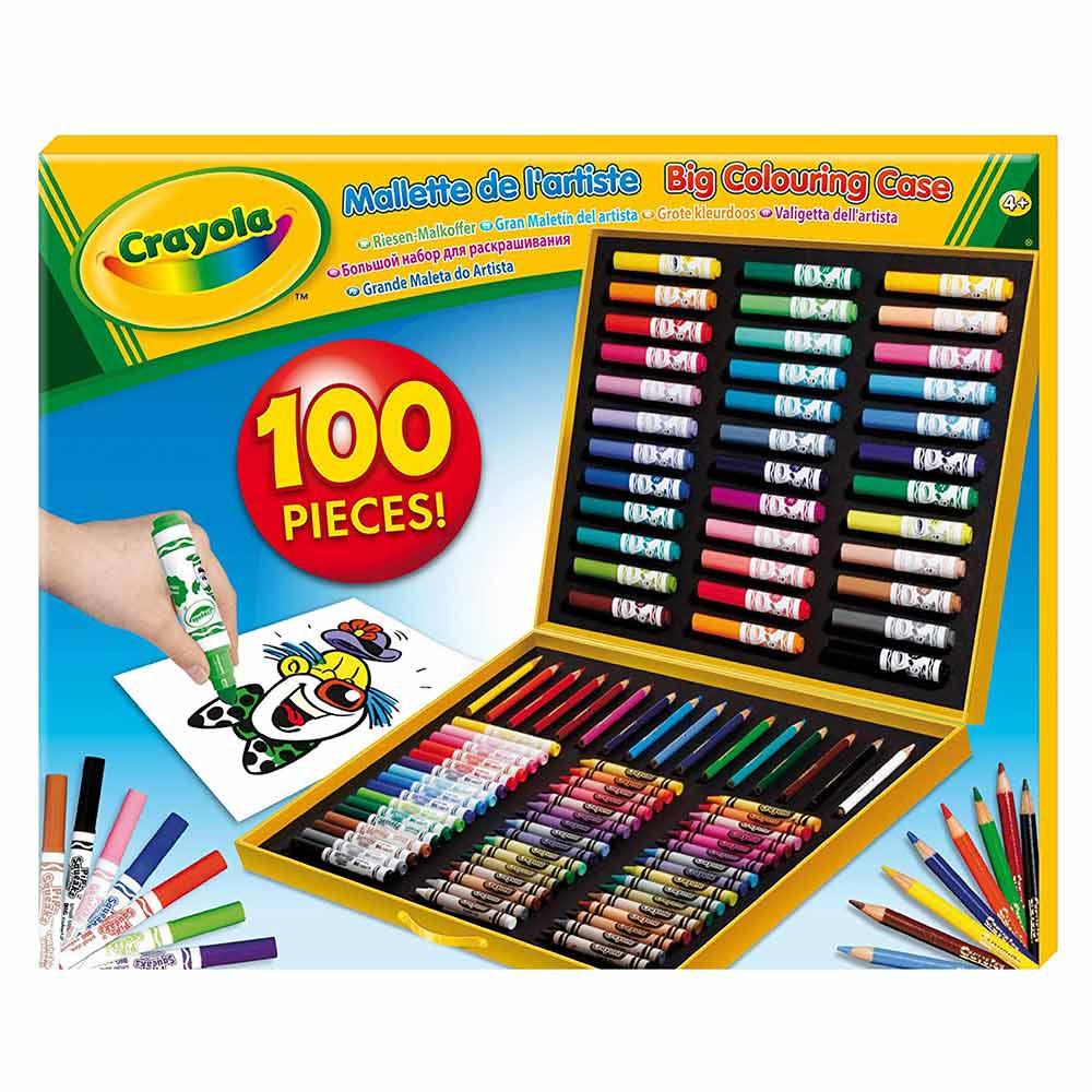Набір для творчості Crayola з фломастерами (10651) - купити в магазині  дитячих іграшок  Будинок іграшок  d04b04b62fe73