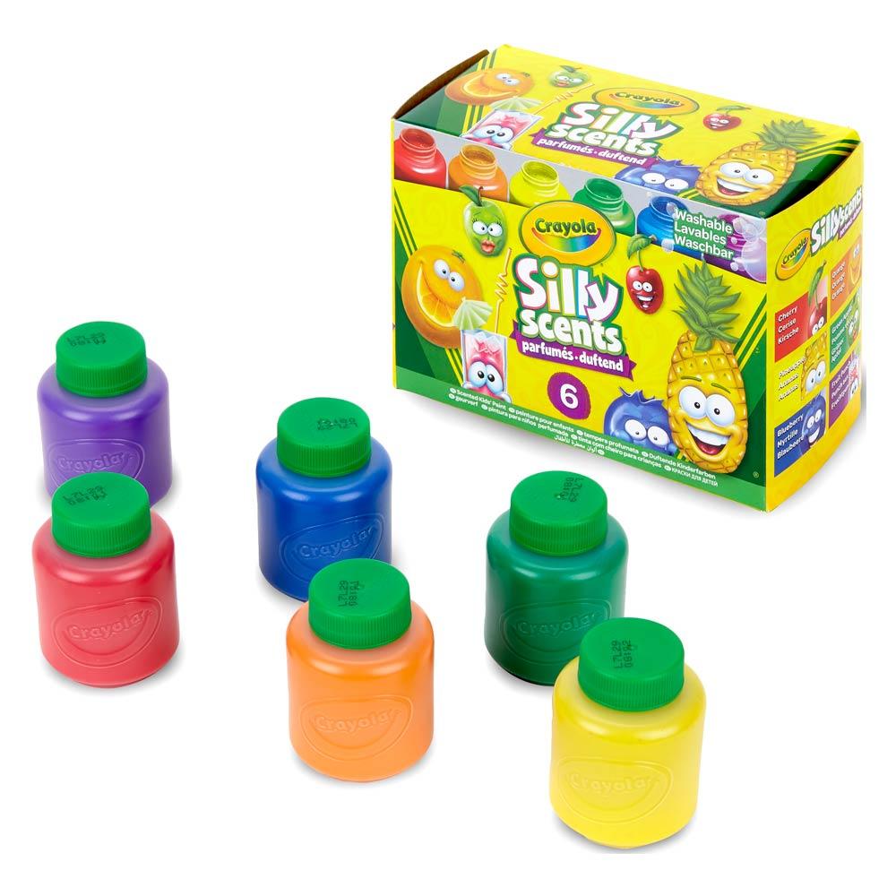Ароматні фарби Crayola 6х59 мл (54-2392) - купити в магазині дитячих ... aa4c14ba707a2