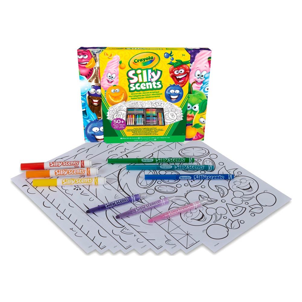 Набір для малювання Crayola Silly Scents (04-0015) - купити в магазині  дитячих іграшок  Будинок іграшок  409996d4ef75f