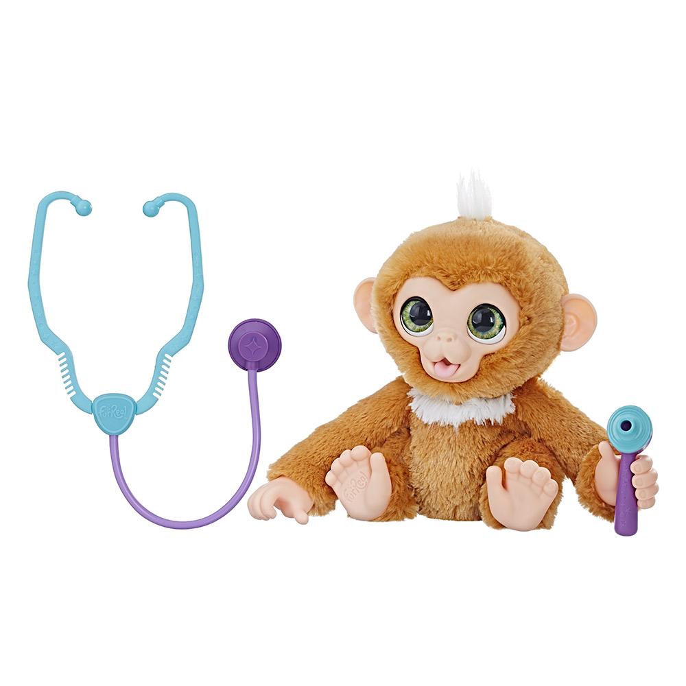 Интерактивные мягкие животные - Интерактивная мягкая игрушка FurReal Friends  Обезьяна Занди (E0367) 5b44e36f2936c