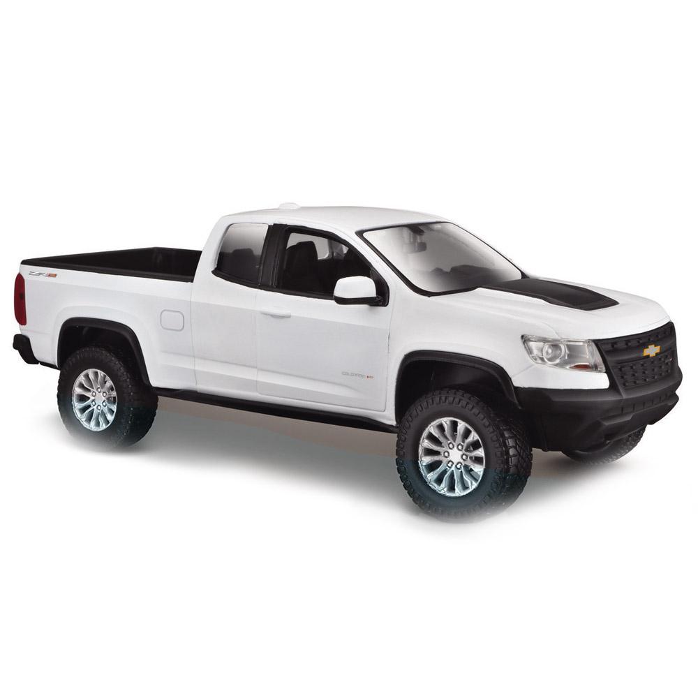 Колекційні автомоделі - Машинка іграшкова Maisto Chevrolet Colorado ZR2  1 27 біла (31517. c57c33ff4c3d3