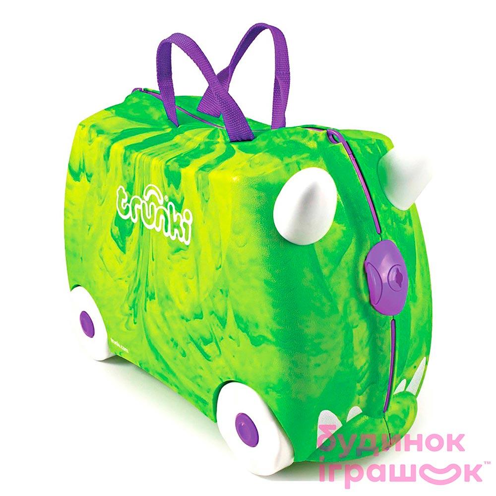 458a357419f6 Детский чемодан Trunki Trunkisaurus rex (0066-GB01) 【 Будинок іграшок 】  купить в Киеве, Харькове, Одессе по низкой цене