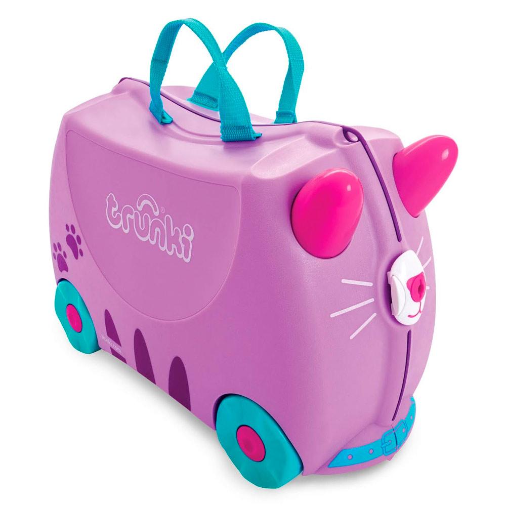 08f218c5cb9f Рюкзаки и сумки - Детский чемодан Trunki Cassie Candy Cat (0322-GB01)