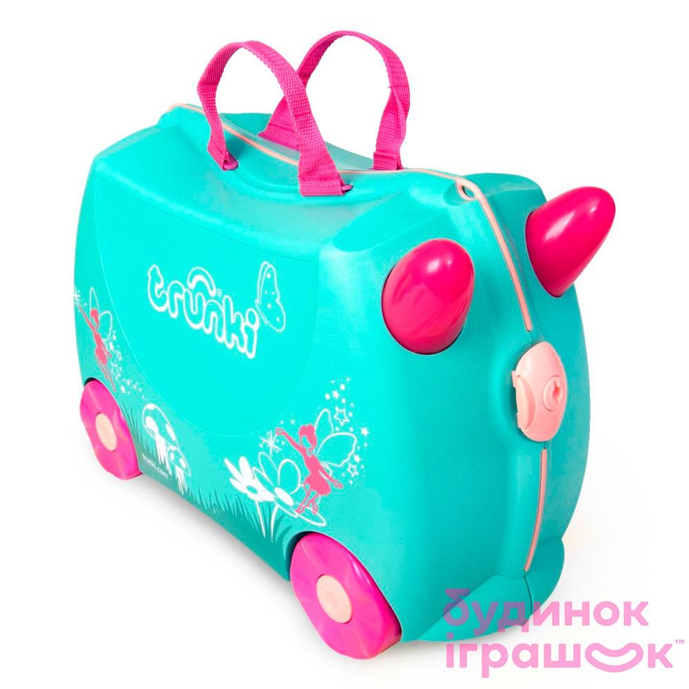 8b1f5ae07585 Детский чемодан Trunki Flora fairy (0324-GB01-UKV) 【 Будинок іграшок 】  купить в Киеве, Харькове, Одессе по низкой цене