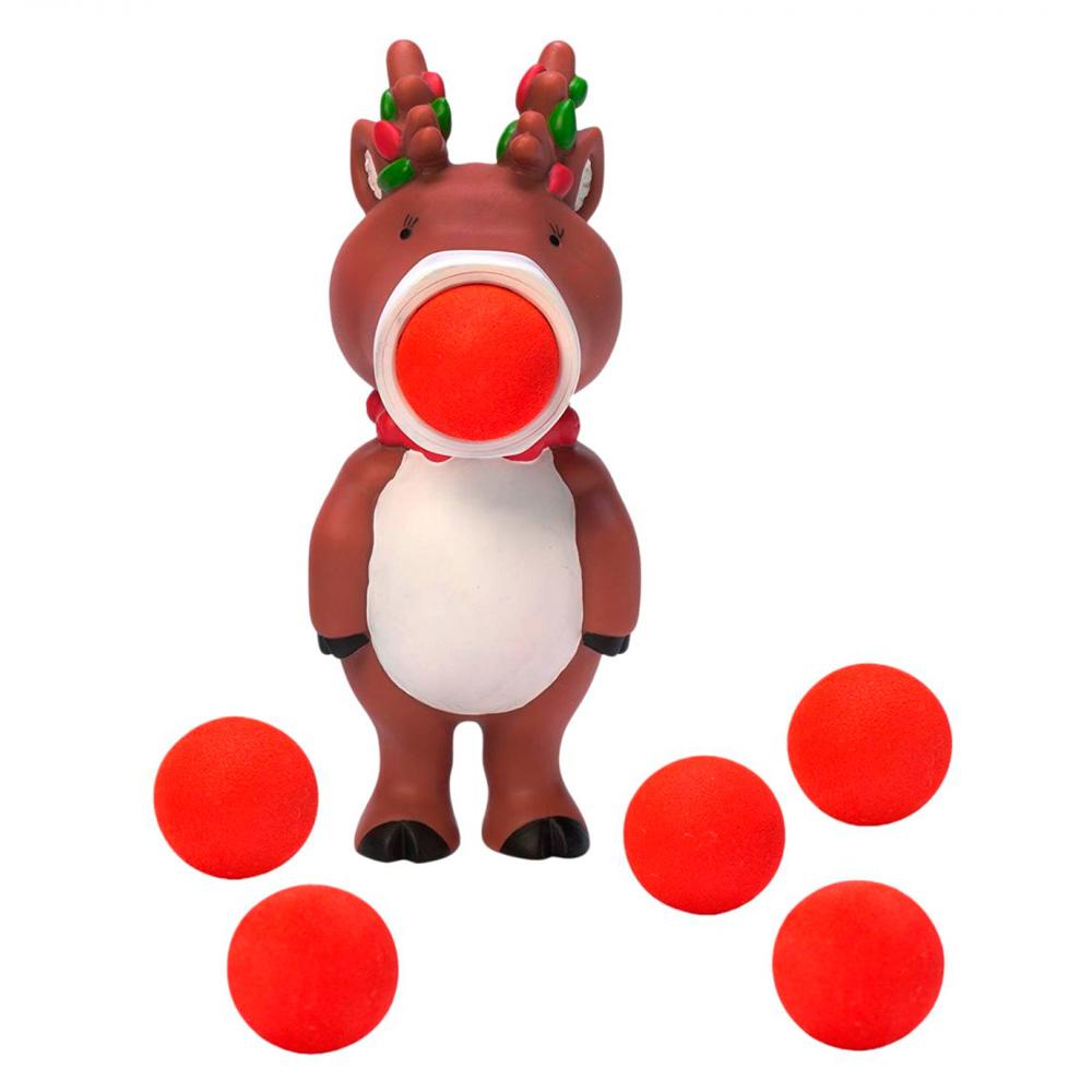 Купить Детские спортивные игры, Игрушка Squeeze Popper Стреляющий зверёк Олень (54530)