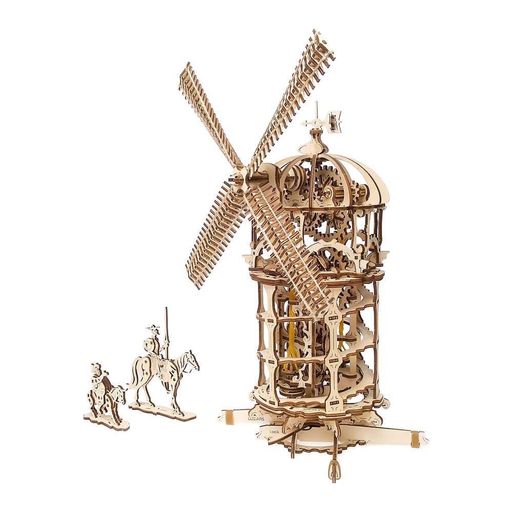 Купить Пазлы, 3D пазл Ukrainian Gears Башня-Мельница (6333810)