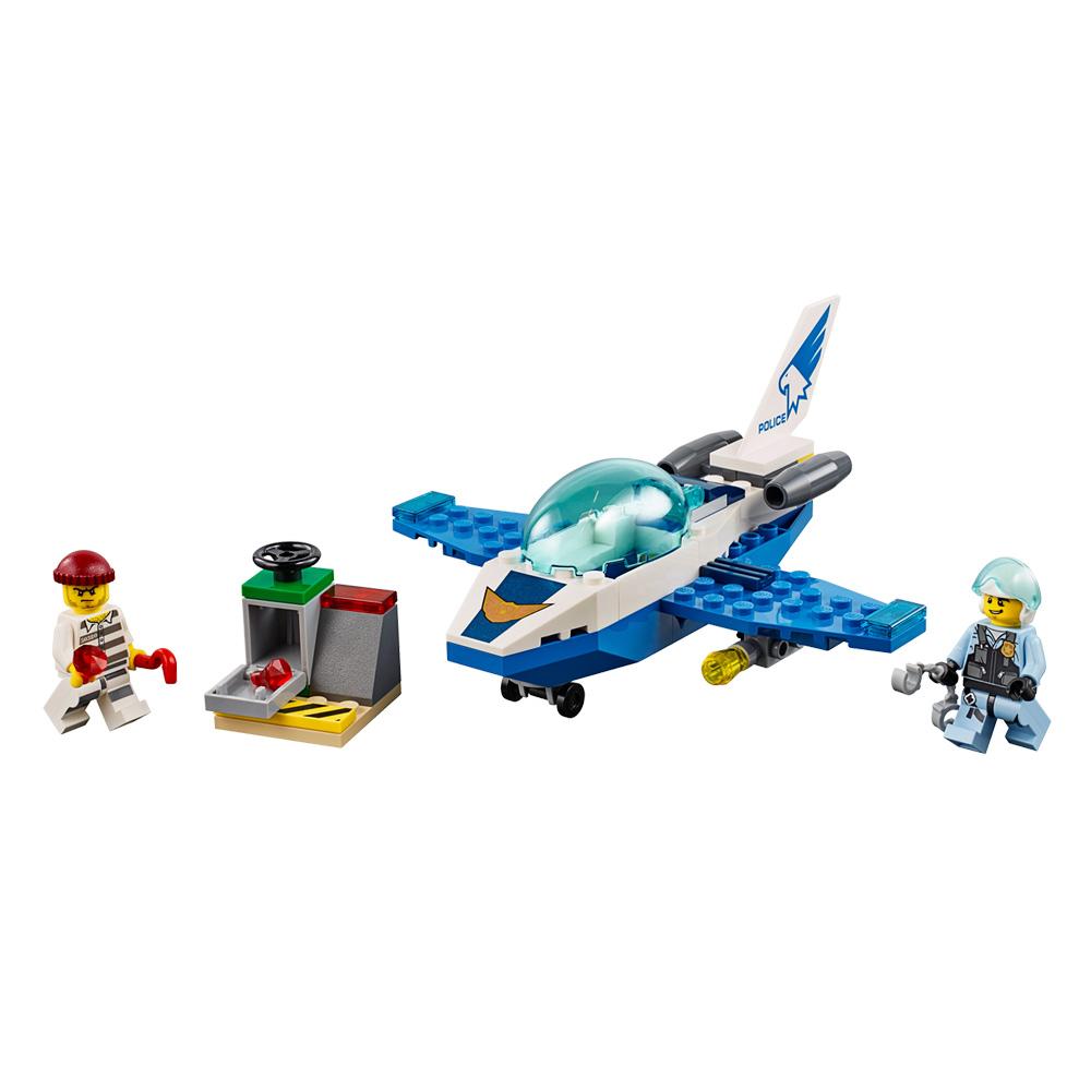 Купить Детские конструкторы, Конструктор LEGO City Воздушная полиция Патрульный самолёт (60206)